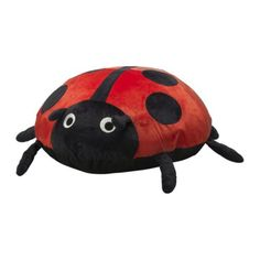 so....i bought this  SAGOSTEN Ikea ladybug inflatable pillow
