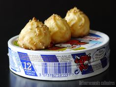 Gougères à la Vache qui rit Appetizers For Party, Appetizer Recipes, Babybel, Healthy Cooking, Cooking Recipes, Nutritious Meals, No Cook Meals, Finger Foods, Macaroni And Cheese