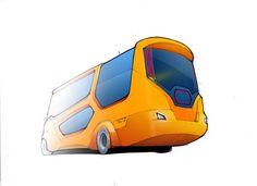 School Bus Concept by Moises Hansen, Guilherme Webster, Gabriel Altenhofen and Stefan Fernandes