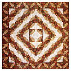 Additional Images of Extraordinary Log Cabin Quilts by Judy Martin - ConnectingThreads.com