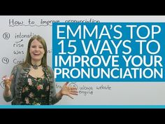 15 ways to improve your English pronunciation - YouTube