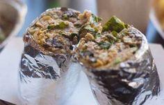 Pescado Burrito at El Pelon Taqueria in Boston