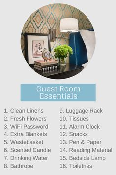 Happy Holidays! Here is our Guest Room Essentials checklist to help you prepare for holiday guests #HomeForTheHolidays #GuestRoomEssentials #GuestRoomChecklist