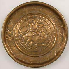 Brass Dish  --  Early 16th Century  --  German  --  The Metropolitan Museum of Art