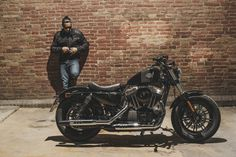 Harley-Davidson Sportster Forty-Eight Harley Bobber, Harley Davidson Sportster, Moto Car, Riders On The Storm, Forty Eight, Bike Rider, Old Bikes, Ride Or Die, Classic Bikes