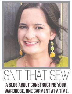 Isn't that Sew: Pattern-Making 101: Pattern-Making basics, how to actually design and draft patterns tailored to your body.