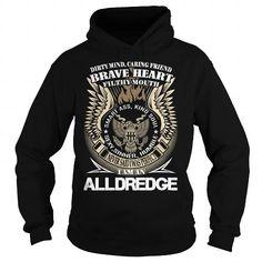 Awesome Tee ALLDREDGE Last Name, Surname TShirt v1 T shirts