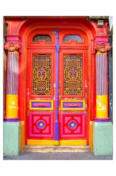 Door in Paris-