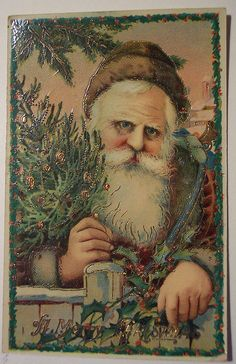 Old-fashioned Easter European St. Nick