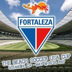 Fortaleza Esporte Clube will be at The USA Cup in Oceanside #beachsoccer #futbolplaya #besocha #theusacup #usacup #Oceanside #2017USACUP  Ver Tradução