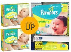 Pampers Diapers, Only $5.37 at Rite Aid!