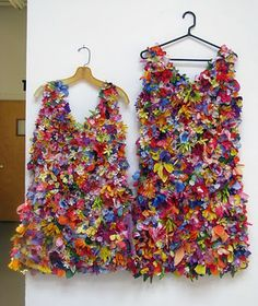 Love these dresses and the creativity behind it.