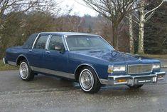 1985 Chevrolet Caprice Classic Four Door Sedan