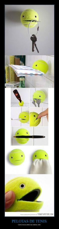 tennis balls as never seen before