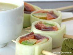 Lollipop Rolls #21dsd #sushi #rolls
