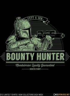 Fett and Sons by Azafran is available starting at $12 until 3/2 at OnceUponaTee.net!