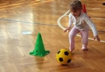 Fußball-Training