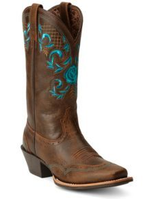 Ariat Terrace Acres Cowgirl Boots - Square Toe  And these!!! @Sheplers Western Wear