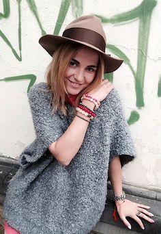 Aktorka Honorata Witańska w biżuterii Fuerza. Fuerza #fuerza #aktorka #actress #collection #kolekcja #fashion #stylization #woman #kobieta #beautiful #look #bransoletki #bransoletka #bracelets #bracelet #jewelry