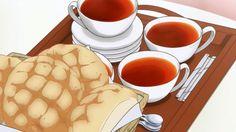 Anime Food ( yum they look like conchas)