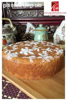 INTRODUCTION I know this is a cake, but I do not know what category of cake it should belong, a sponge cake or a chiffon cake or a butter/shortened cake? For me, a butter/shortened cake should at least have fats content to flour in the ratio of 1:1 and this cake is used much lesser  …