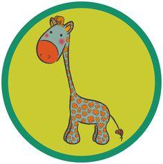 Giraffen Button