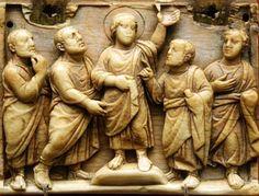 Different interpretation of   의심하는 토마    420년 430년 대영박물관