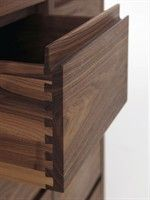 Wooden chest of drawers design by Terry Dwan