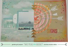 Kristina Nicolai White: In the Mood to Scrap: Signs by KristinaNicolaiWhite @2peasinabucket