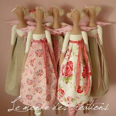 I love these 'tilda' dolls. Have the pattern book but have not made one yet. Doll Crafts, Diy Doll, Waldorf Dolls, Soft Dolls, Fabric Dolls, Matilda, Doll Patterns, Doll Toys, Doll Clothes