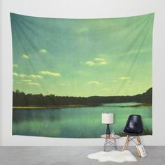 Buy Evening at the Lake Wall Tapestry by Olivia Joy StClaire. Worldwide shipping available at Society6.com. Just one of millions of high quality products available.