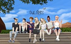 Sims 4 updates: flower chamber - poses : gp our times 7 poses, custom conte Sims 4 Cas, My Sims, Sims Cc, Teen Poses, Kid Poses, Bffs, Sims 4 Black Hair, Sims 4 Cc Kids Clothing, Sims 4 Teen