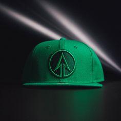 awesome Snapback Baseball Cap Hat Green Arrow DC