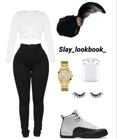 cute outfits to wear Swag Outfits For Girls, Boujee Outfits, Cute Swag Outfits, Teenage Girl Outfits, Teen Fashion Outfits, Teenager Outfits, Dope Outfits, Simple Outfits, Pretty Outfits