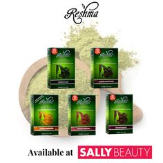 Shop for Natural Henna Semi Permanent Hair Color from Reshma at Sally Beauty. Natural hair coloring that covers unwanted gray and makes hair thicker, stronger, and shinier. Henna For Hair Growth, Henna Hair Color, New Hair Growth, Hair Colors, Make Hair Thicker, How To Make Hair, Natural Henna, Natural Glow