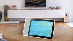#Google said on Monday its voice-controlled virtual assistant will show up this year in new tablet-like devices designed by #LG, #Sony, #JBL and #Lenevo as the technology company seeks to challenge #Amazon's dominance in a fledgling market. The new devices introduce tablet-like screens to speakers that can obey oral commands to perform tasks like playing music, dimming lights, locking doors and setting alarms.