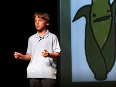 Birke Baehr: What's wrong with our food system via TED. This kid makes me proud to be human, and gives me high hopes for our future.