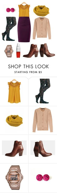 Complementary colours by k-newall on Polyvore featuring Tara Jarmon, Sempre Di, G-Shock and ASOS