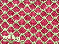 Royal quilting stitch is easy to do, but takes about half the time to knit because you slip most of the stitches. This knitting pattern is perfect for a cardigan or a pillow, in fact, for any knits. Knitting Abbreviations, Knitting Stiches, Arm Knitting, Crochet Stitches, Knitting Designs, Knitting Patterns Free, Knit Patterns, Color Patterns, Stitch Patterns