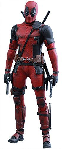 Marvel Comics Movie Masterpiece Deadpool 16 Scale Plastic Painted Figure action figure by Hot Toys ** Be sure to check out this awesome product.