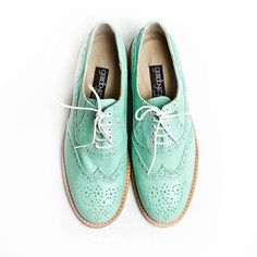 Precious | Oxford Shoes Women's Mint