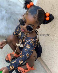 Black Baby Girls, Cute Black Babies, Cute Babies, Black Kids, Baby Girl Hair, Cute Baby Girl, Cute Little Girls Outfits, Kids Outfits, Toddler Outfits