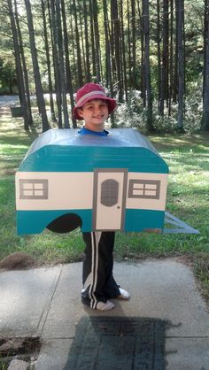 Homemade Camping Tent Costume