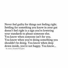This goes a lot of different ways though.. just trust your gut period if something doesn't feel right it normally isn't ..