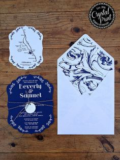 delft scallop wedding paper by crystalprint Stationery Paper, Wedding Stationery, Wedding Invitations, Invites, Affordable Wedding Dresses, Unique Weddings, Wedding Paper, Wedding Cards, Blue Wedding