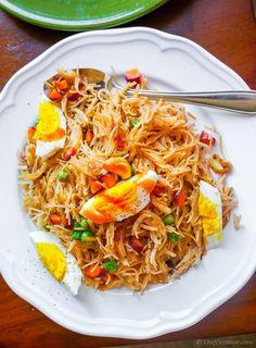 Indian Semiya Vermicelli Upma Recipe   ChefDeHome.com