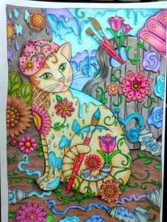 Gatos colorir