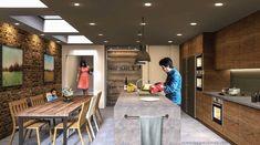 Kitchen Design Principles - Home Design Tutorials Kitchen Room Design, Best Kitchen Designs, Home Decor Kitchen, Kitchen Layouts, Kitchen Cabinets To Ceiling, Kitchen Triangle, Kitchen Measurements, Kitchen Modular, Ikea