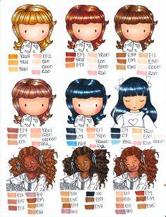 #hair #copic