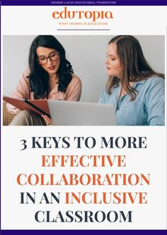 Strategies general and special education teachers can use to clearly communicate to all students that they are equal partners.